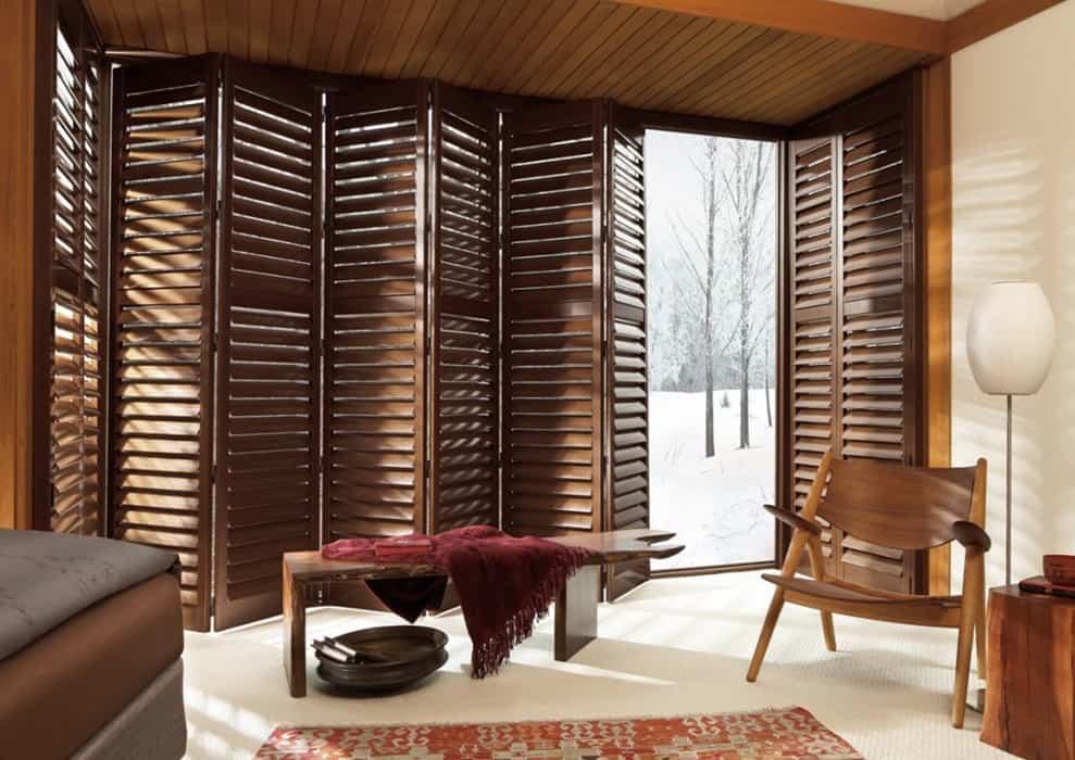 Shutters en houten jaloezieën in je woonkamer | Shutterkoning
